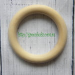 Maple Wood Teething Rings Organic natural eco toys