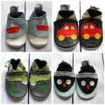 * Leather Baby Soft Sole Shoes Boys