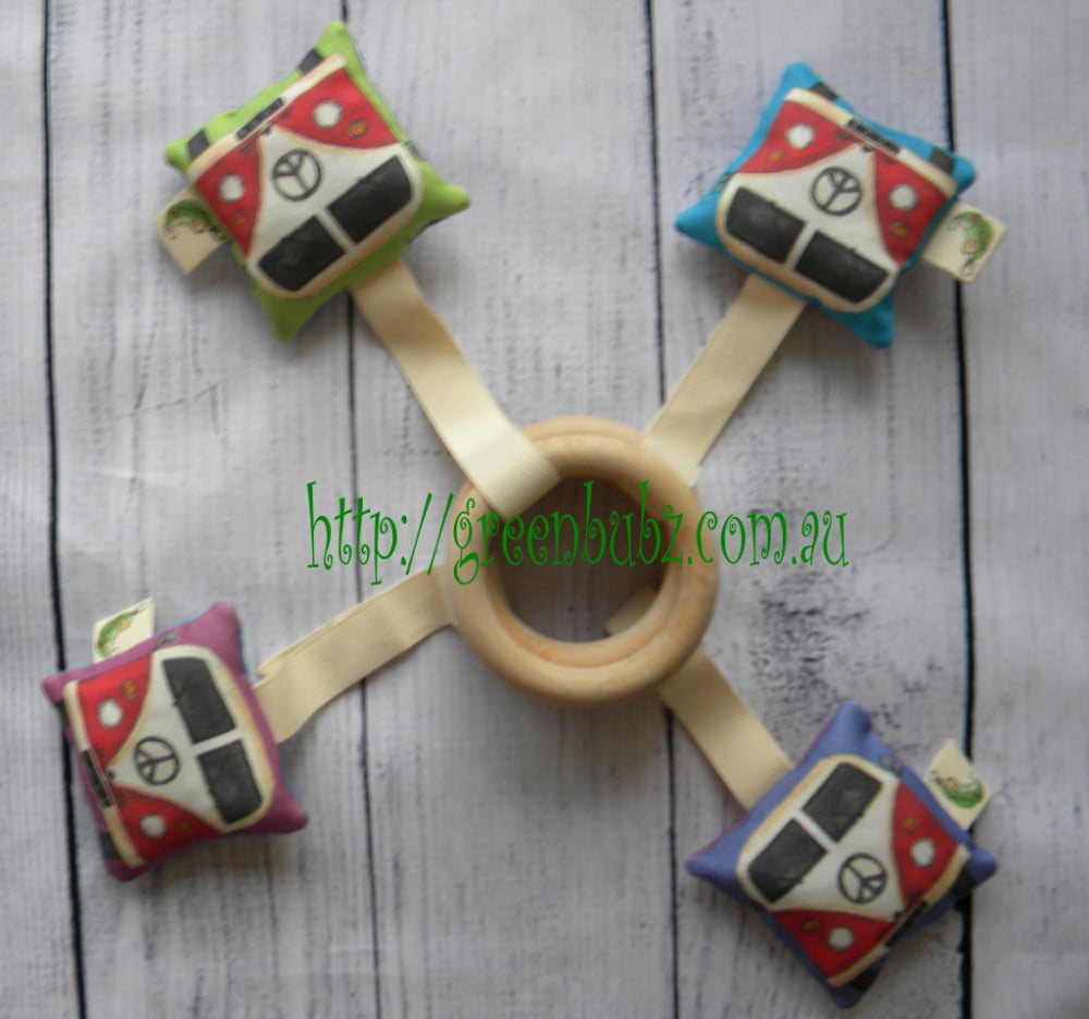 Kombi Bus Teething Ring