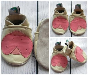 Leather Soft Sole Baby Shoes Prewalkers Pink