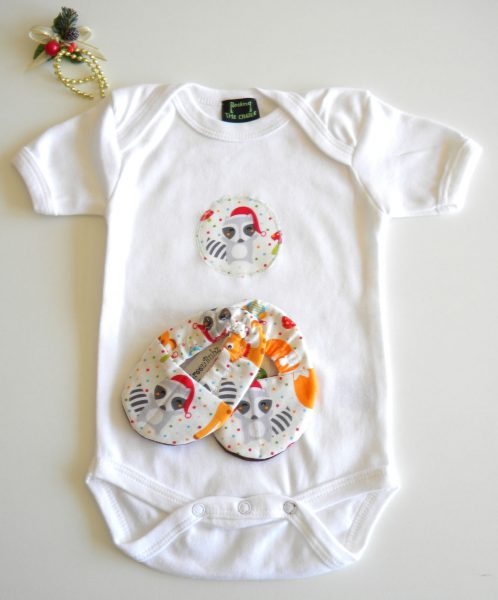 Christmas Baby Onesie Shoe Sets