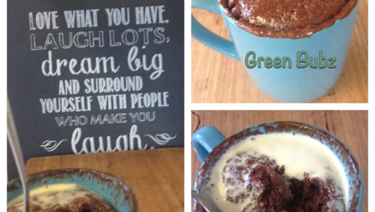 Healthy - errr Chocolate Mud Mug Cake