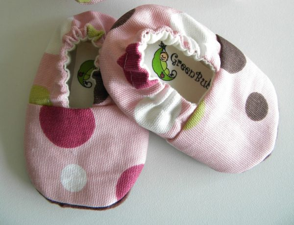 Polka Dot Soft Sole Baby Shoes