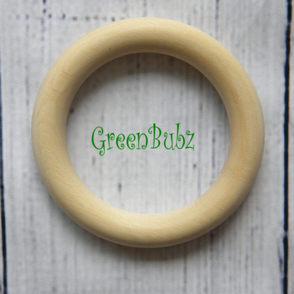 Organic Maple Wood Teething Ring