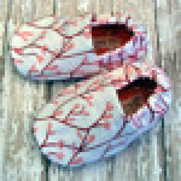 Organic Coral Baby Soft Sole Walker Shoes Cotton
