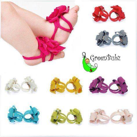 Girls Barefoot Sandals Thongs Shoes