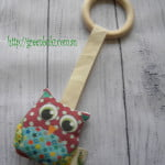 Owl Teething Ring