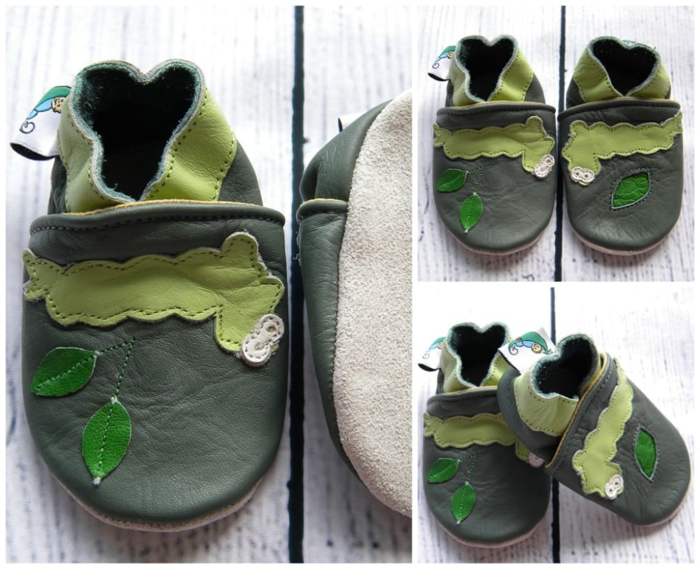 Soft Sole Baby Shoes Prewalkers Catterpillar