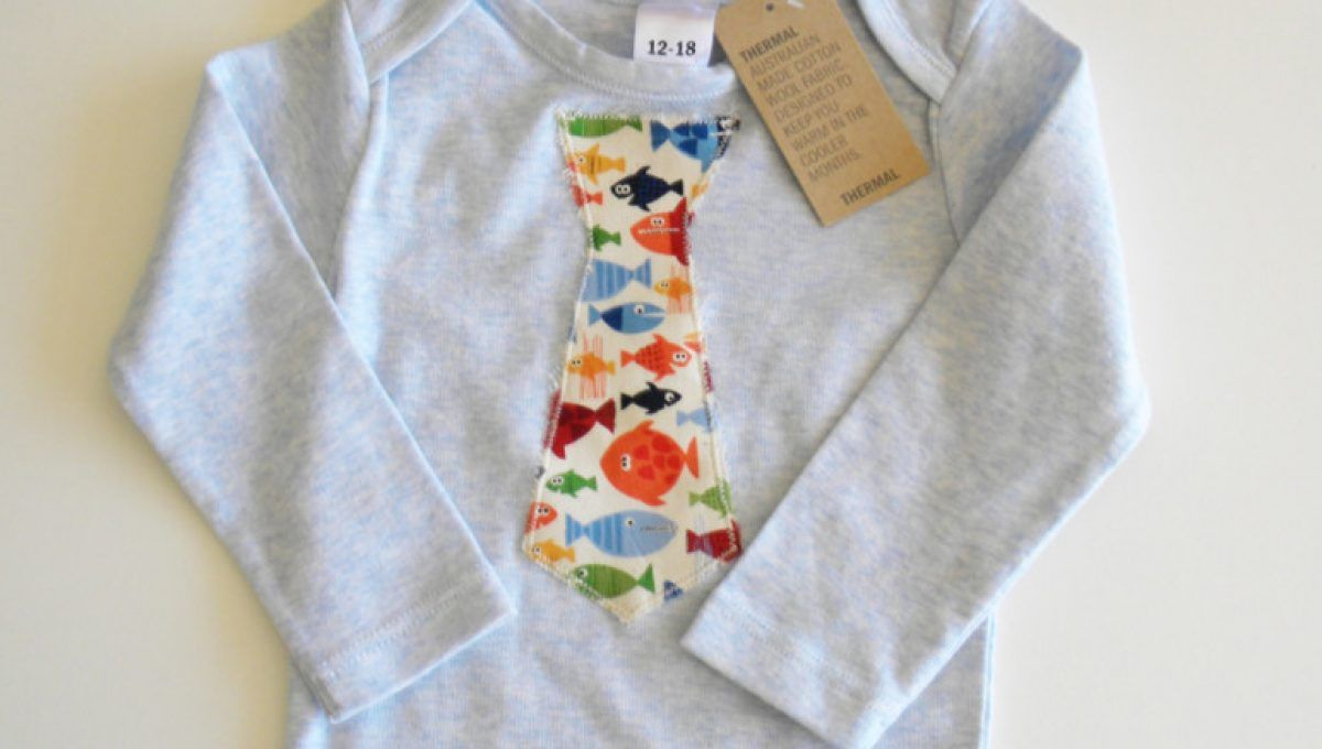 Fish Nautical Baby Boys Boots & Matching Shirt Onesie