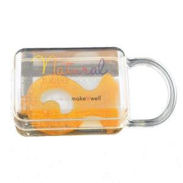 Natural Rubber Fish teether