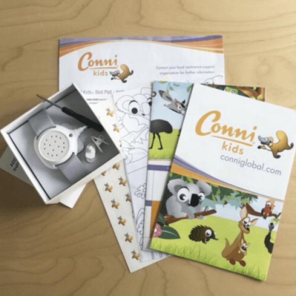 Bed Wetting Alarm with Conni Training and Reward Set