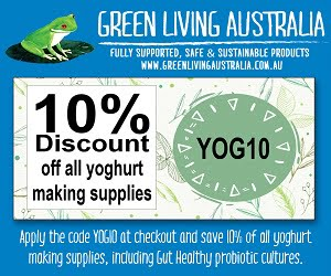 Make Gut Healthy, Low Sugar Yoghurt at Home - Save 10%
