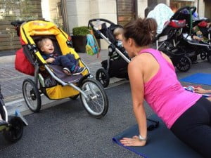 Stroller Workout For Mums